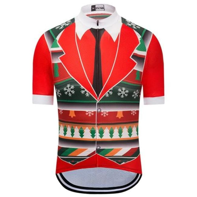 Christmas Cycling Jersey for men - Fast-Selections