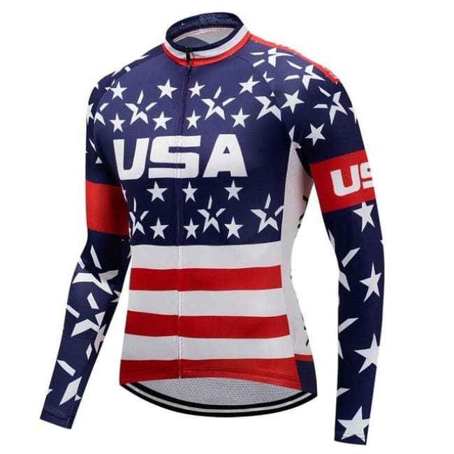 Long Sleeve Men's Bike Apparel - Fast-Selections