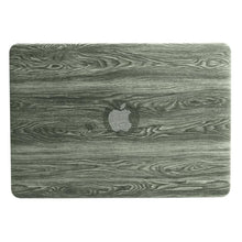 Load image into Gallery viewer, Macbook Air/Pro Protective case (Wood grain PU leather top ) - Fast-Selections