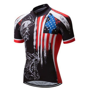 Men's Bike Apparel Set (Honor the Fallen) - Fast-Selections