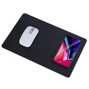 New Creative Wireless Charging Mouse pad Universal Mobile Phone Qi Wireless Charger Charging Mouse Pad Mat - Fast-Selections