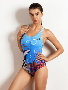 One Piece Competitive Swimwear