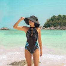 Load image into Gallery viewer, Bandage Flower One Piece Swimsuit - Fast-Selections