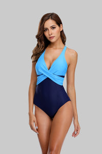 One piece Colorblock Swimsuit