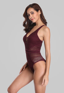 One Piece Mesh Swimsuit - Fast-Selections