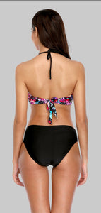High Neck Bikini Set  Cross - Fast-Selections