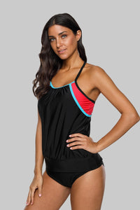 Colorblock Tankini - Fast-Selections