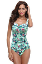 Load image into Gallery viewer, Shirred Backless One Piece Swimwear - Fast-Selections