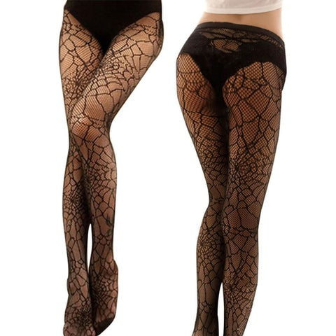 Spider Web Stockings Great For Halloween