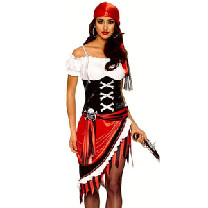 Woman Pirate Halloween Costume - Fast-Selections