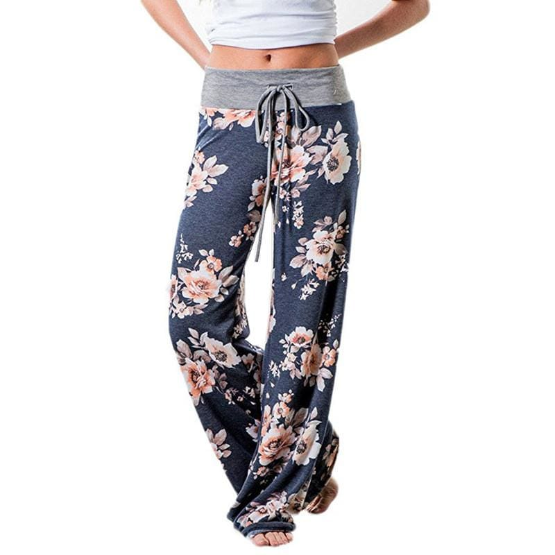 Women Flower Trouser - Fast-Selections