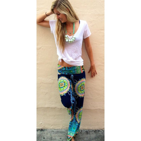 Women High Waist Palazzo Pants