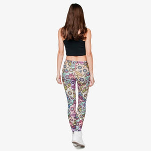 Women Legging, Mexican Skull Leggings ( Free Shipping ) - Fast-Selections