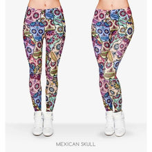 Load image into Gallery viewer, Women Legging, Mexican Skull Leggings ( Free Shipping ) - Fast-Selections