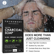 Charcoal Soap with Tea Tree and Eucalyptus - 2 Pack