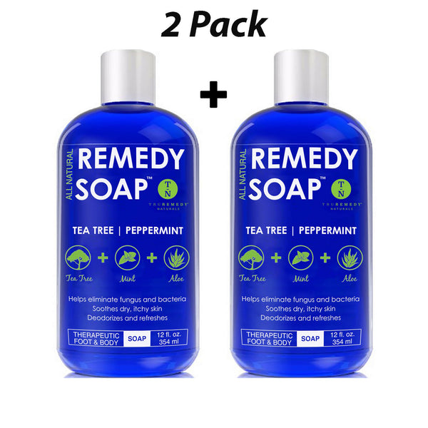 Remedy Soap - Tea Tree Oil Body Wash - 2 Pack