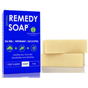 Remedy Natural Tea Tree Oil & Peppermint Soap Bar - 2 Pack