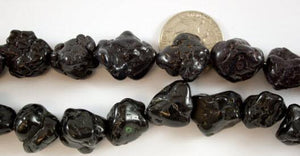Medium Black Magnesite Nuggets