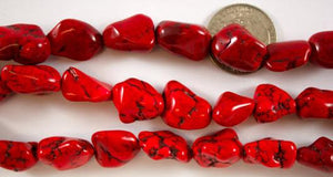 Medium Red Magnesite Nuggets