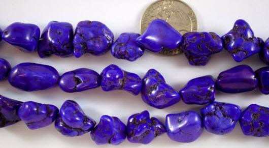 Medium Purple Magnesite Nuggets