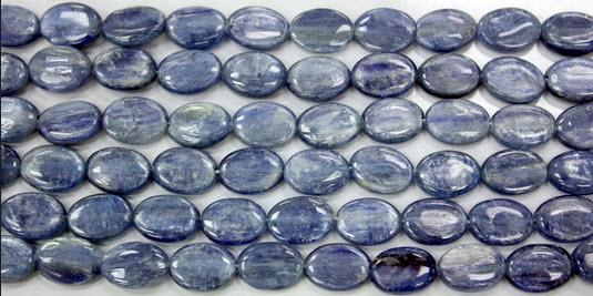 Kyanite Oval 10x14mm - $24 per Strand