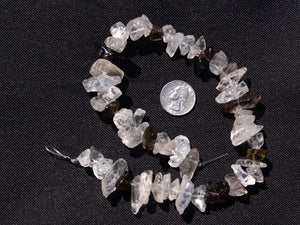 Smoky and Crystal Quartz Medium Chunks