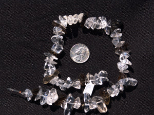 Smokey and Crystal Quartz Small Polished Chunks
