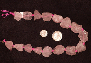 Natural Rose Quartz Large Chunks