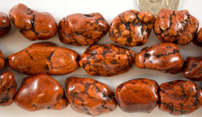 Large Brown Magnesite Nuggets