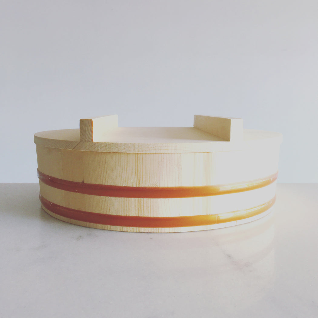 Oak Hangiri with Lid