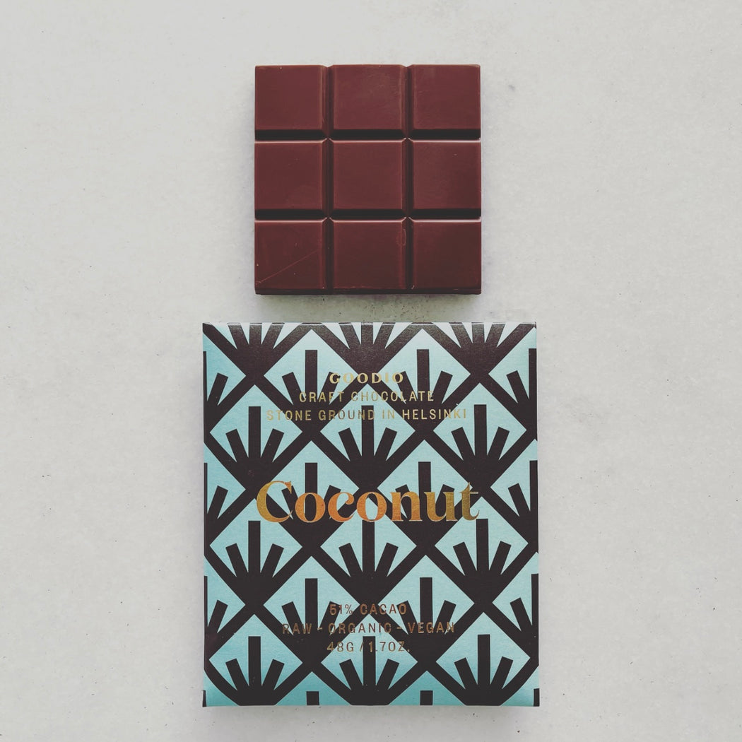 GOODIO Coconut Chocolate Bar