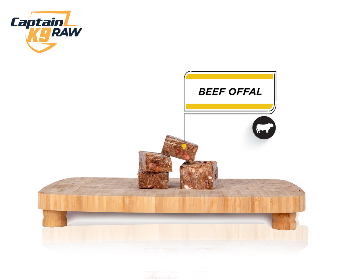 Beef Offal Slices- 3LB Bags