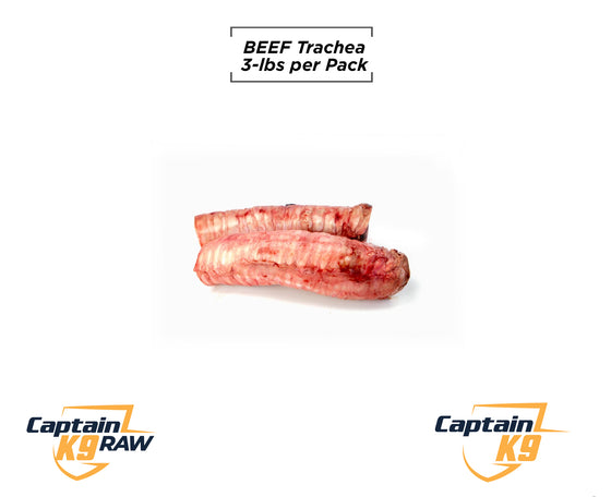 Beef Trachea - 2 LB Bags