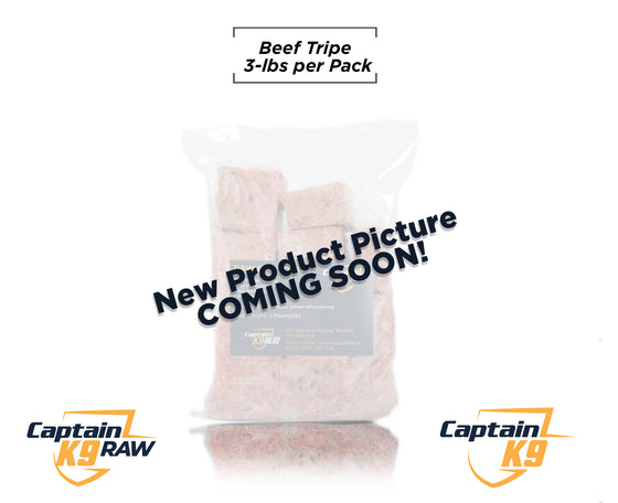Beef Tripe Slices- 3LB Bags