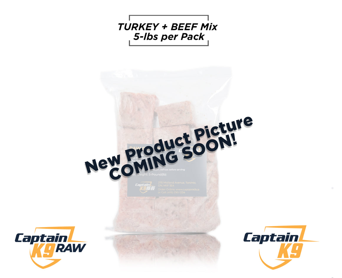 Turkey Beef Mix  - 5LB Bags