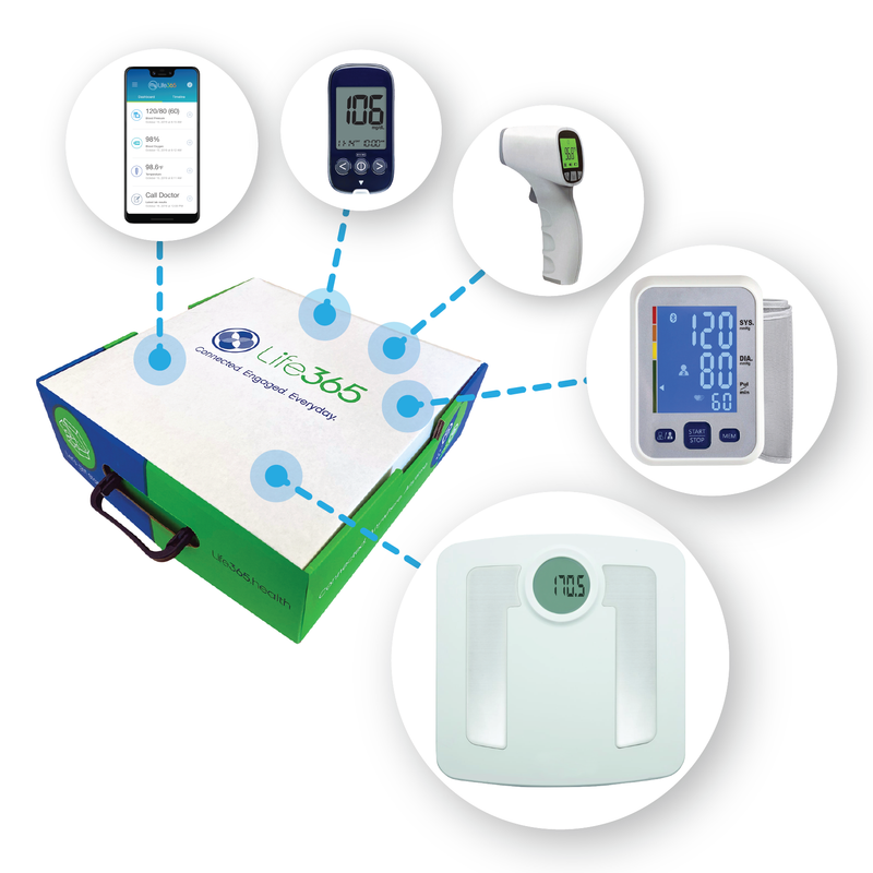 Life365 Kidney Care Remote Monitoring Kit