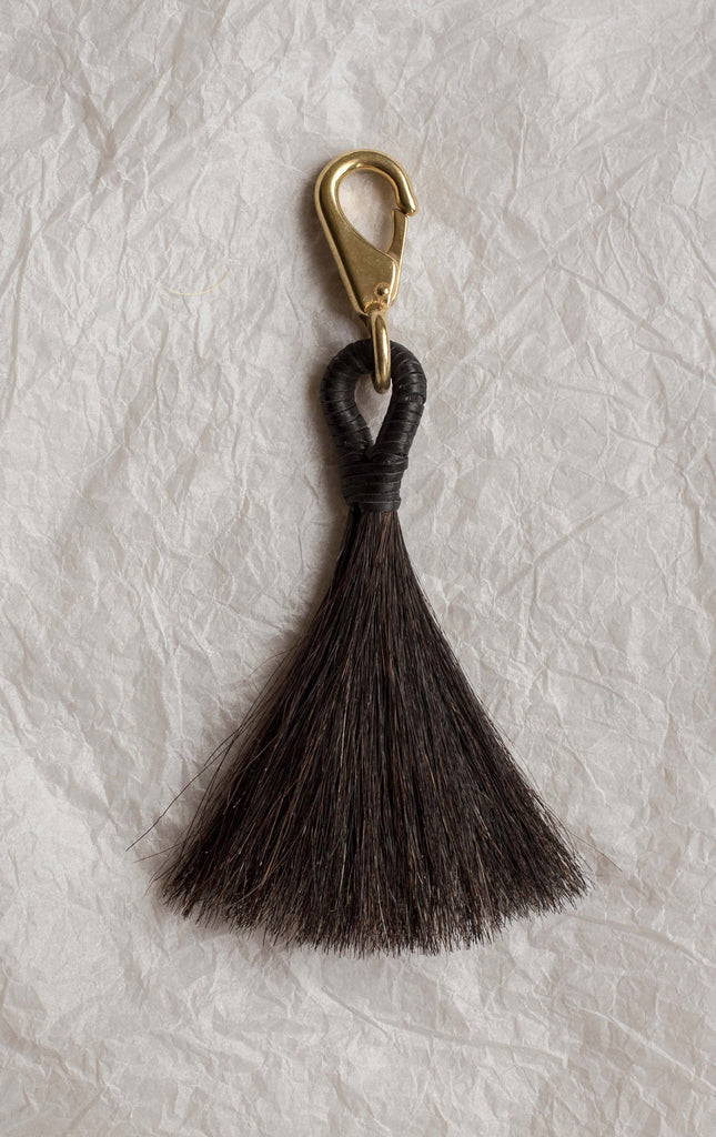 Basket Tassel -Jet Black