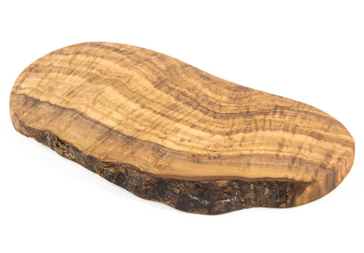 "Tramanto Olive Wood Cheese Board 12"" x 6"""