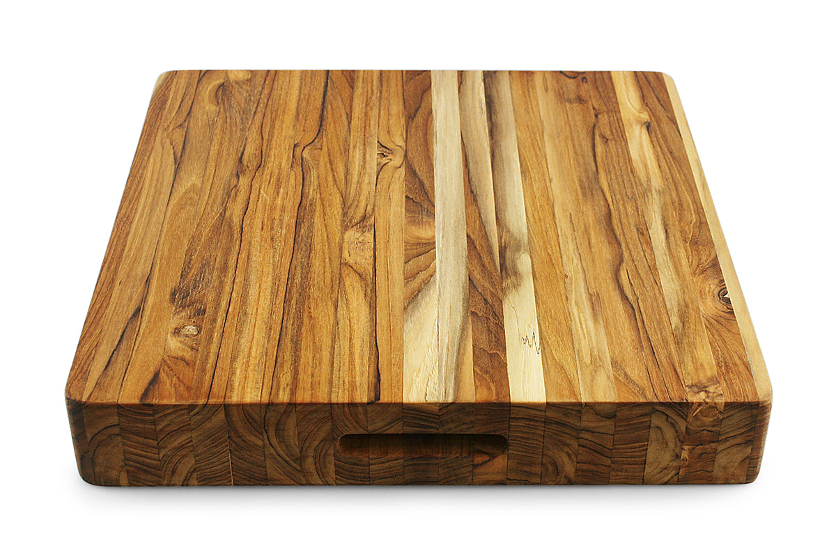 Terra Teak Extra Large Wood Chopping Block