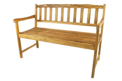 Terra Teak Outdoor Bench 48""