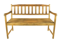 Terra Teak Outdoor Bench