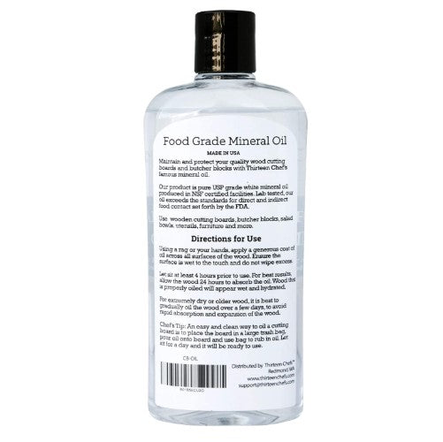 Food Grade Mineral Oil 12oz