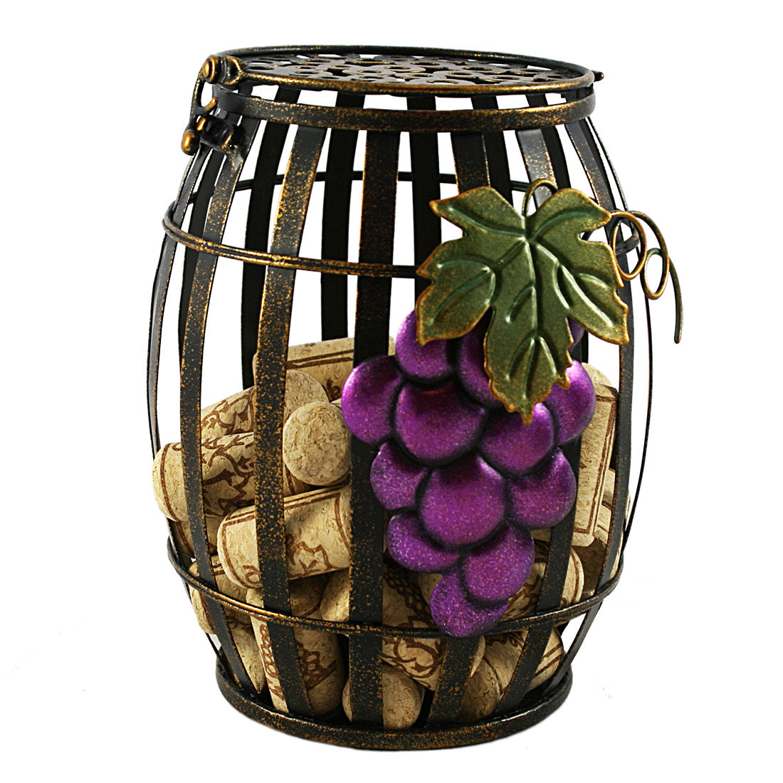 Vintage Wine Barrel Cork Holder