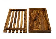 Tramanto Olive Wood Bread Board and Serving Tray
