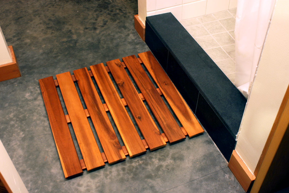 Acacia Wood Bath Mat