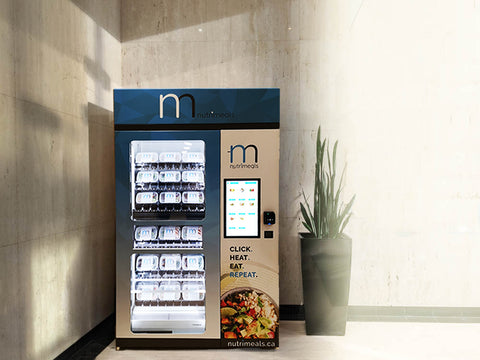 Nutrimeals kiosk - Automated vending machine