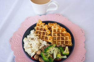 Cheddar Chive Waffle
