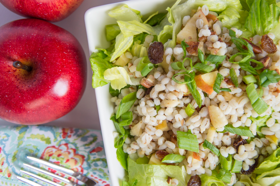 Barley Apple Salad