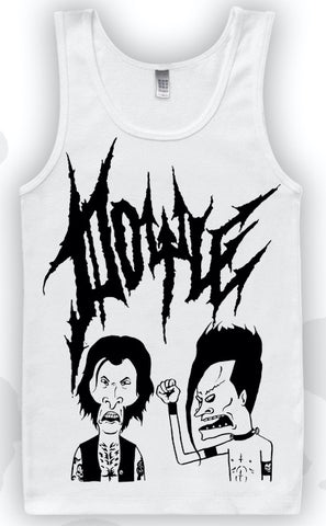 """NEW DESIGN"" Beavis and Butthead Parody Tank Top"