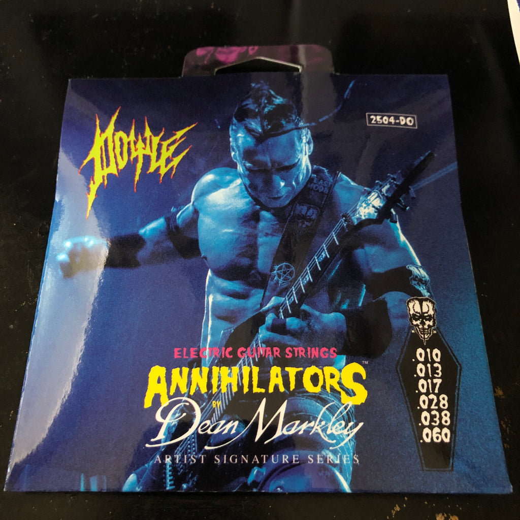 ANNIHILATORS by Dean Markley Signature strings(Signed by Doyle)